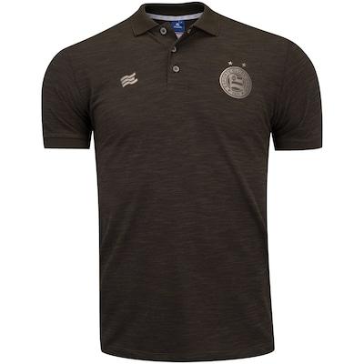 Camisa Polo do Bahia Viagem Comissão Técnica 2020 Esquadrão - Masculina
