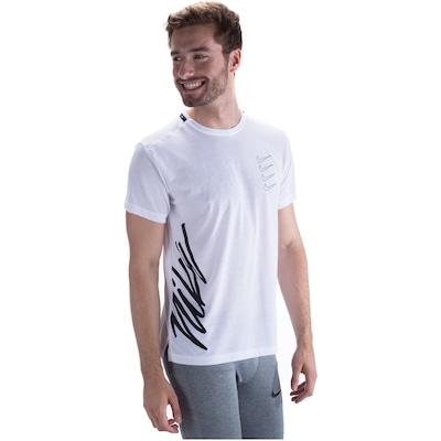 Camiseta Nike Top SS Swoosh Four - Masculina