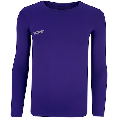 Camisa Térmica Manga Longa com Proteção Solar UV 50 Topper - Masculina