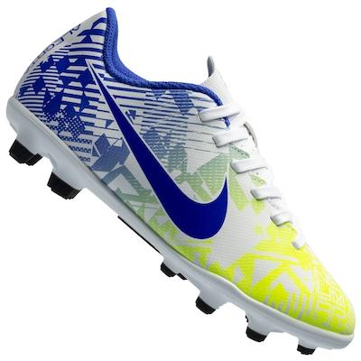 Chuteira de Campo Nike Vapor 13 Club Neymar Jr. FG/MG - Infantil