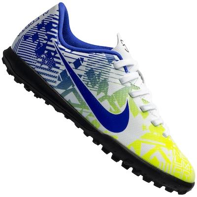 Chuteira Society Nike Mercurial Vapor 13 Club Neymar Jr. TF - Infantil