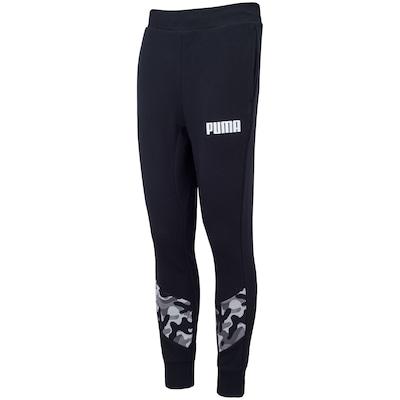 Calça Puma Rebel Camo Pants CL TR - Masculina