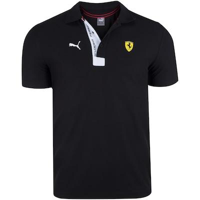 Camisa Polo Puma Scuderia Ferrari 596150 - Masculina