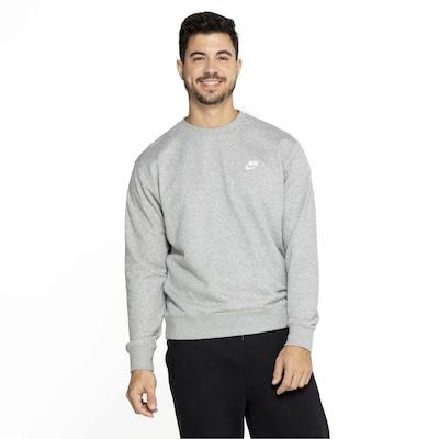 Blusão de Moletom Nike Sportswear Club Crew FT - Masculino