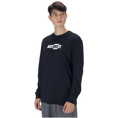 Camiseta Manga Longa Nike Sportswear JDI LS - Masculina