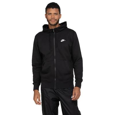 Jaqueta com Capuz Nike Club Hoodie FZ FT - Masculina