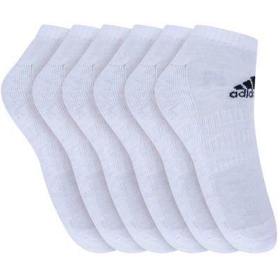 Kit de Meias adidas Cush Low com 6 Pares - 41 a 43 - Masculino