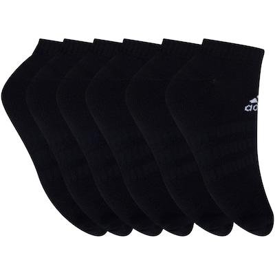 Foto 2 - Kit de Meias adidas Cush Low com 6 Pares - 41 a 43 - Masculino