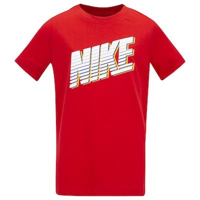 Camiseta Nike Sportswear Block - Infantil