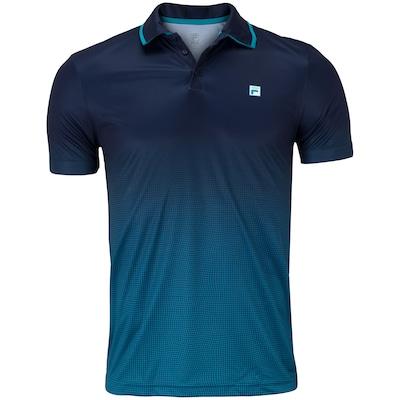 Camisa Polo Fila Aztec Box Net - Masculina