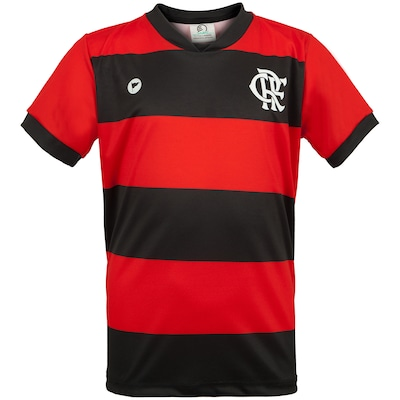Camiseta do Flamengo Sublimada 251S Torcida Baby - Infantil