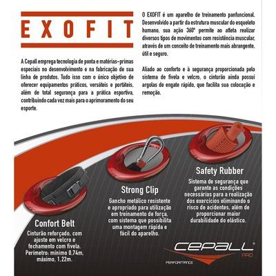 Elástico de Extensão Cepall Exofit Pro