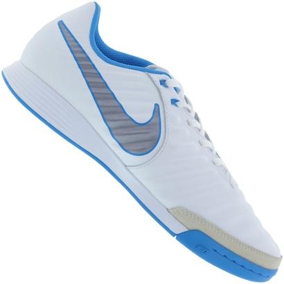 4d37f09eb57 ... Chuteira Futsal Nike Tiempo Legend X 7 Academy IC -  Adulto-BRANCO CINZA. Passe o mouse para ver o Zoom