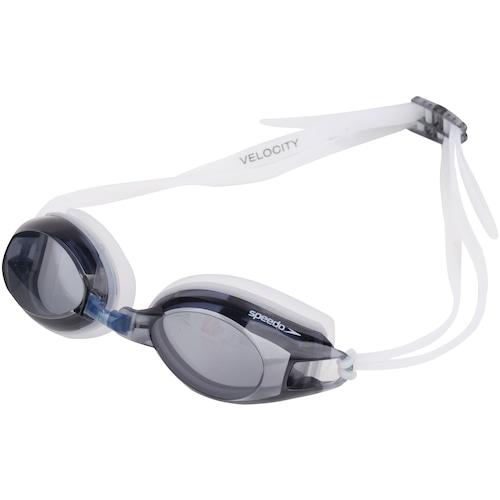 07a598084 Óculos de Natação Speedo Velocity - Adulto - PRETO CINZA