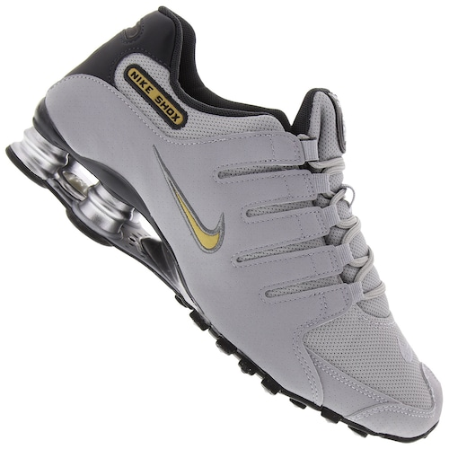 83b7f1c4788 Menor preço em Tênis Nike Shox NZ SI - Masculino - CINZA CLARO