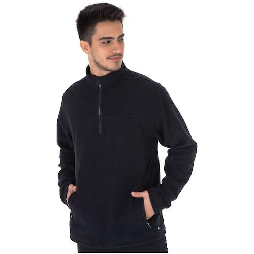 f40754172 Blusa de Frio Fleece Nord Outdoor Basic - Masculina - PRETO