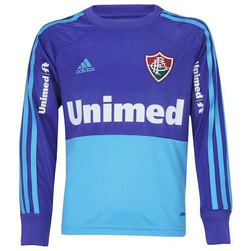 Camisa de Goleiro Fluminense II 2014 s nº Adidas Infantil 1589f481eb796
