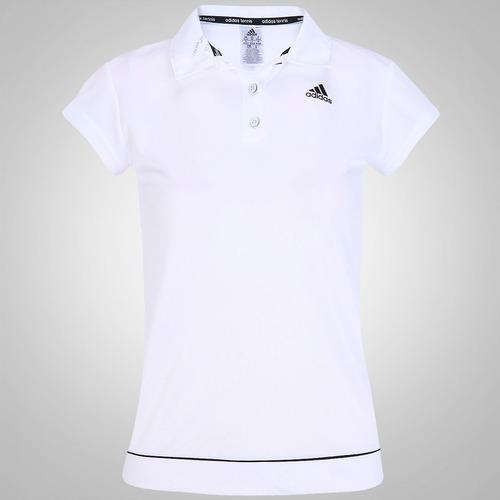 e1373b7ed6dd9 Camisa Polo adidas Galaxy – Feminina