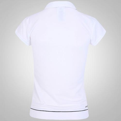 afc11e5ef4c88 Camisa Polo Adidas Galaxy Feminina