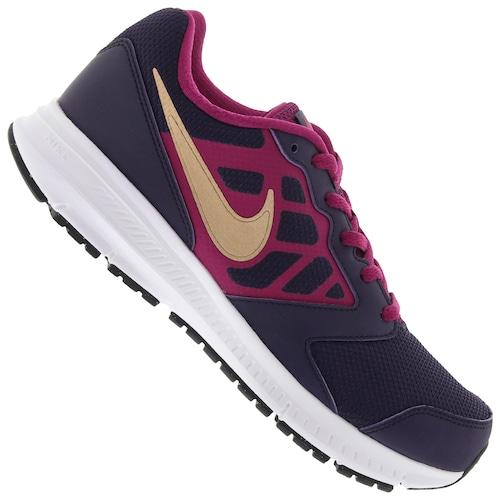 Menor Preço Em Tênis Nike Downshifter 6 Feminino Infantil Roxo Escuro