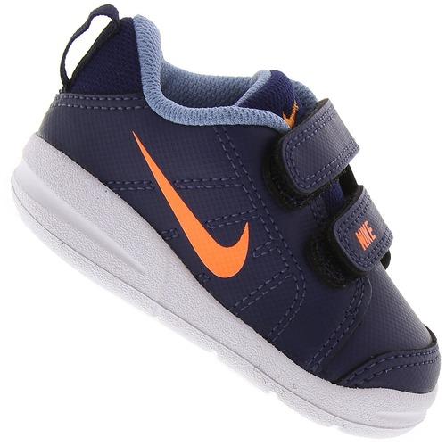 cd16621d55eb0 Tênis para Bebê Nike Pico LT - Infantil - PRETO/AZUL   Menor preço com cupom