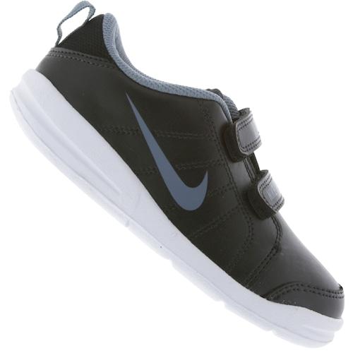cb49fb5cbba01 Tênis para Bebê Nike Pico LT - Infantil - PRETO/AZUL   Menor preço ...