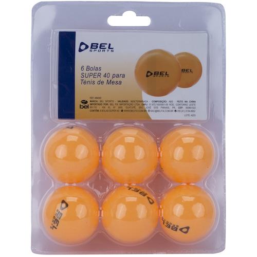 a0623b9f7 Menor preço em Kit de Bola de Tênis de Mesa Bel Fix - 6 Bolinhas