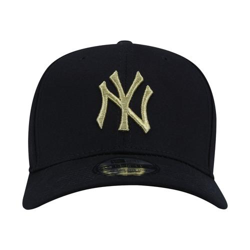 Boné Aba Curva New Era New York Yankees MLB Gob - Fechado b347f2ccce4