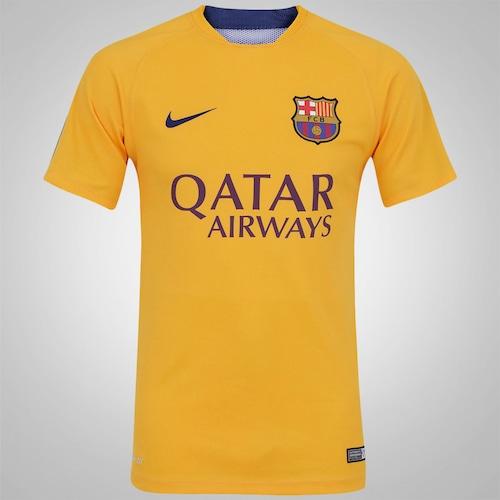 ff0ccace3c Camisa de Treino Barcelona 15/16 Nike