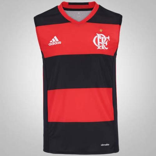 Camiseta Regata do Flamengo I 2016 adidas - Masculina 095834aaf611c