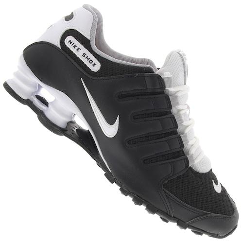 505225b643 Tênis Nike Shox NZ SE - Masculino - PRETO BRANCO