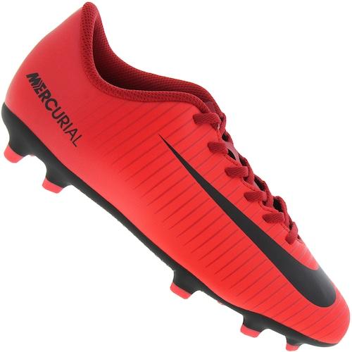 74f96c867cf7f Chuteira de Campo Nike Mercurial Vortex III FG - Infantil