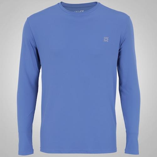 Camiseta Manga Longa UV Line CT Esporte - Masculina 501fc0370b1