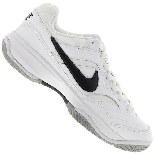 1eafbc4238e Tênis Nike Court Lite - Masculino - BRANCO PRETO