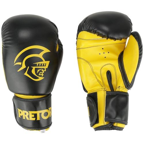 79dbba211f988 Kit de Boxe Pretorian: Bandagem + Protetor Bucal + Luvas de Boxe First - 12  OZ - Adulto
