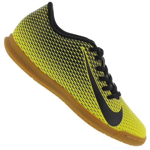 6c05aec0d2 Chuteira Futsal Nike Bravata X II IC - Adulto - Amarelo Preto ...