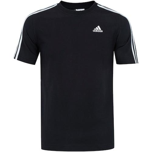 3e7f0c3e4 Camiseta adidas Ess 3S - Masculina - BRANCO | Menor preço com cupom