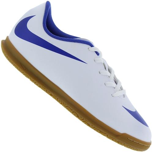 b6829c7e96 Chuteira Futsal Nike Bravata II IC - Infantil - BRANCO