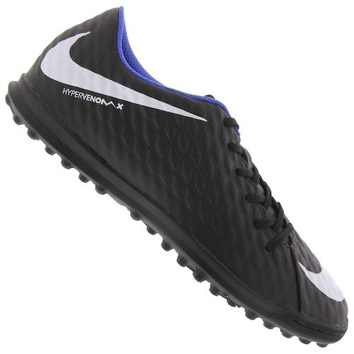 2c97b0cd6a76e Chuteira Society Nike Hypervenom X Phade III TF - Adulto
