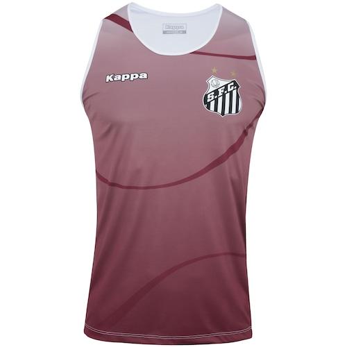 338aed00f Camiseta Regata do Santos 2017 Kappa Dalmo - Masculina