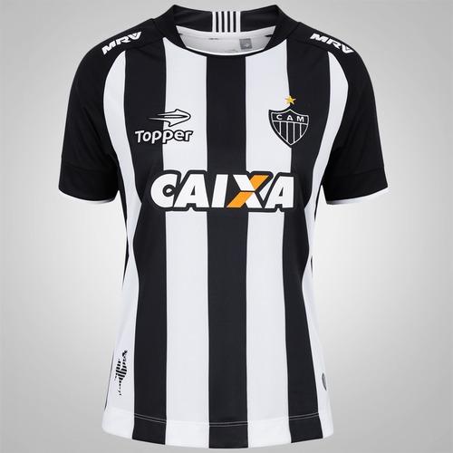 62e34287e199d Camisa do Atlético Mineiro I 2017 Topper - Feminina
