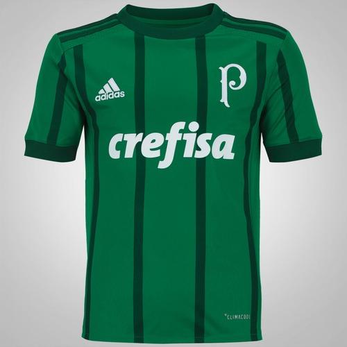 d9b25f8fc7 Camisa do Palmeiras I 2017 adidas - Infantil