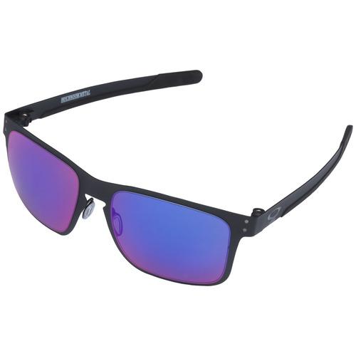 7099b72df Menor preço em Óculos de Sol Oakley Holbrook Metal Iridium - Unissex - PRETO