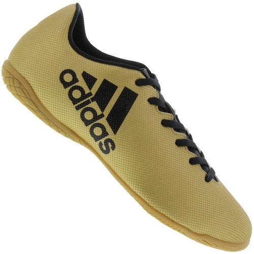88dfdb14da Chuteira Futsal adidas X 17.4 IN - Adulto - AMARELO