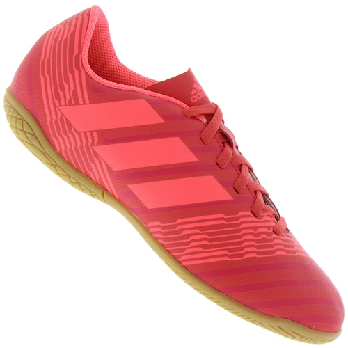 70fdfc1087 Menor preço em Chuteira Futsal adidas Nemeziz 17.4 IN - Infantil