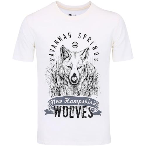 Camiseta Timberland Wolves - Masculina bcb69471165ec
