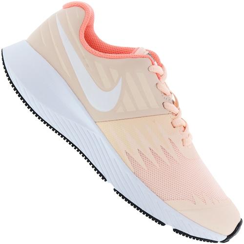 e57607facc Tênis Nike Star Runner Feminino - Infantil - PRETO/PRATA | Menor ...