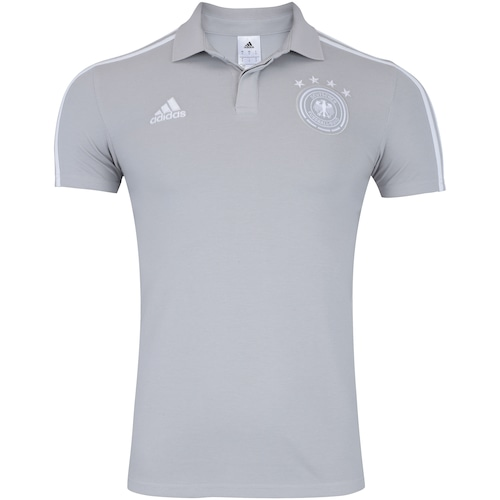 Camisa Polo Alemanha 2018 adidas - Masculina 39917ae822194