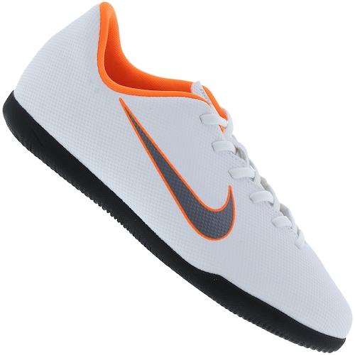 1c1efc0945 Menor preço em Chuteira Futsal Nike Mercurial Vapor X 12 Club GS IC -  Infantil - BRANCO CINZA