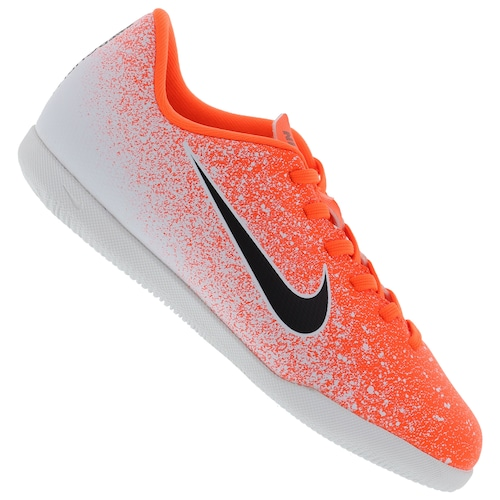 bdbfd5ae52 Chuteira Futsal Nike Mercurial Vapor X 12 Club GS IC - Infantil - CINZA CLA  VERMELHO
